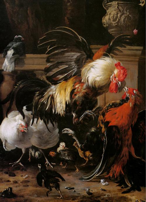 Охотничий натюрморт и другие работы М ...: www.gayduk.org/naturmorti_izvestnih_hudojnikov/melxior_de...