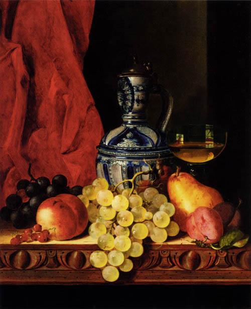 Купить натюрморт с фруктами эдварда