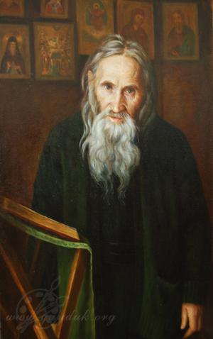 Портрет схиархимандрита Илии