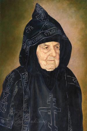 Портрет схимонахини сепфоры