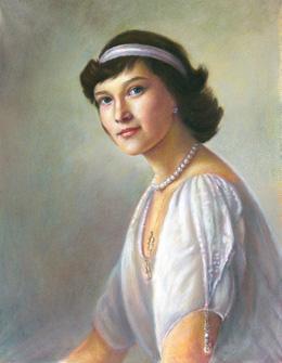 Портрет царевны татьяны
